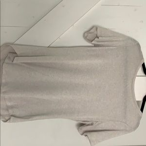 Old navy tan sweater luxe t